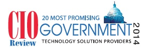 CIO Review 20 Most Promising Government Technology Solution Providers 2014